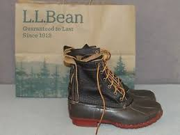 s bean boots size 9 ll bean 8 bison leather bean boots winter s size 9