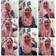 tutorial jilbab segi 4 untuk kebaya tutorial model hijab kebaya simpel dan modern terbaru rantidwi