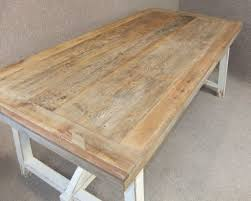 Shabby Chic Dining Table For Sale by New England Tables Peppermill Antiques