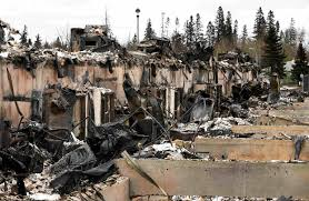 Wildfire Canada Today by Canada Wildfires Raise Threat To Oil Sands Mining Operations Wsj