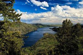 Wyoming vegetaion images Fremont lake the year round recreational hub of pinedale wyoming jpg