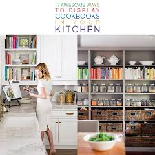 diy kitchen cabinets book 17 awesome ways to display cookbooks in your kitchen the