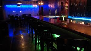 home pub decor stunning bar lounge design with mesmerizing blue and green light