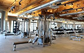 fitness center interior design modern residential apartment