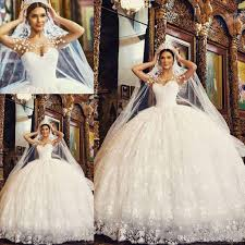 bridal gown 2017 arabic lace gown princess wedding dresses scoop sheer