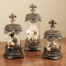 fleur de lis canisters for the kitchen fleur de lis decorative jar set