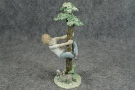 lladro tree of adventure porcelain 10 3 4 figurine what s it worth