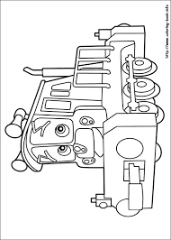 chuggington coloring picture coloring activities