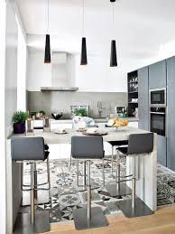 cuisine ouverte avec bar cuisine ouverte avec îlot façon bar déco décoration