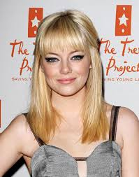 emma stone natural hair picturesque also hair color trends new hair color ideas to sightly