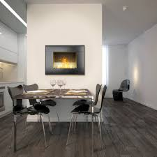 stunning contemporary ventless gas fireplace insert on stacked