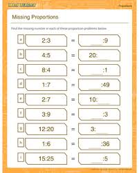 missing proportion u2013 printable proportion worksheet u2013 math blaster