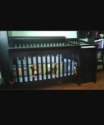 Princeton Convertible Crib Used Sorelle Princeton Elite 4 In 1 Convertible Crib And Changer