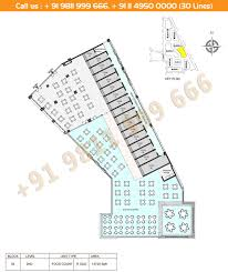 floor plan m3m urbana ground first second floors and office suite