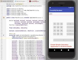 android stuido how to create simple calculator android app using android studio