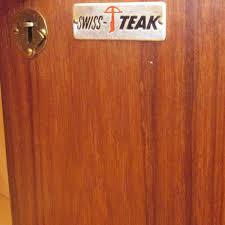 Vintage Teak Sideboard Swiss Teak Sideboard U2013 Artichoke Vintage Furniture
