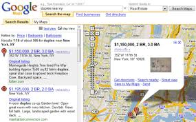 google maps adds real estate search
