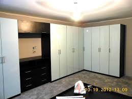 corner wardrobe cabinets in white