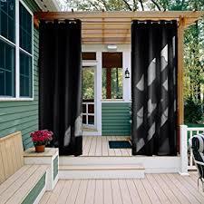 amazon com outdoor curtain panel for patio nicetown all season
