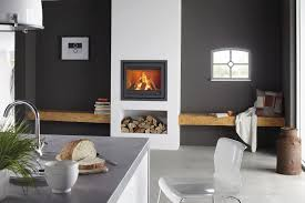 Wood Fireplace Insert by Wood Burning Fireplace Insert 1 Sided Instyle 700ea By Dik