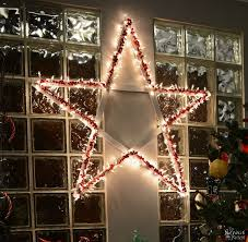 diy lighted christmas stars the navage patch