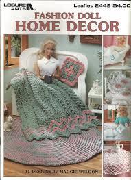 Fashion Home Decor Crochet Pattern Fashion Doll Home Decor Fashion Doll Afghan Barbie