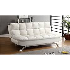 Leather Sleeper Sofas Furniture Of America Tufted Leather Sleeper