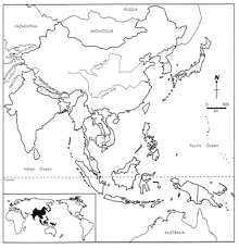 Map Of Monsoon Asia by Geo Resources Fdmc Geography