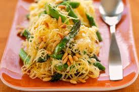 comment cuisiner courge spaghetti courge spaghetti aux asperges et aux noix de pin kraft canada