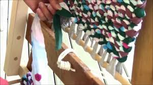 Tied Rag Rug Rag Rug Weaving Part 6 Finishing Off Youtube