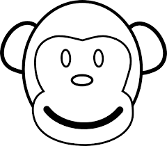 awesome monkey coloring sheets coloring 5202 unknown