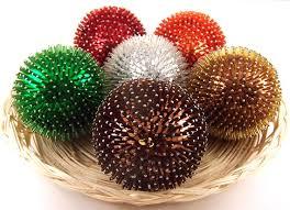 decorative balls pins bugle sequin balls
