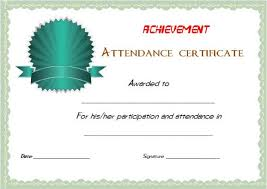 21 best certificate of attendance templates for your events