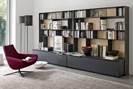 system bookcase flat c collection b u0026b italia design antonio