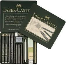 faber castell pitt monochrome graphite sketching set 18 items