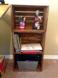 wood crate shelves best 25 wood crate shelves ideas on pinterest
