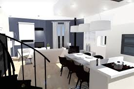 amenager cuisine ouverte sur salon impressionnant aménagement cuisine ouverte luxe décor à la maison