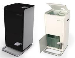 poubelle de cuisine design une poubelle de cuisine douée pour le recyclage