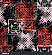 seamless pattern ethnic design tribal background stock