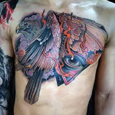tattoo chest triangle collection of 25 color triangle eye with wings tattoo on chest for guys