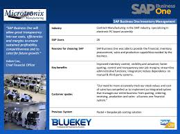 sap business one testimonials by bluekeyseidor