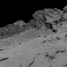 halloween sso background final descent images from rosetta spacecraft nasa