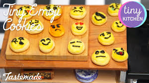 tiny emoji cookies i tiny kitchen youtube