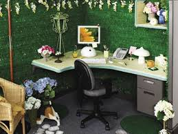 office 21 garden decoration themes modern corner desk green