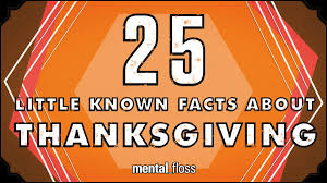 25 known facts about thanksgiving mental floss on
