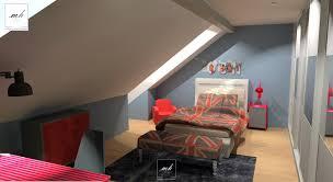 peinture chambre sous pente chambre en sous pente galerie et design peinture chambre en sous