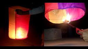 How To Make Paper Air Balloon Lantern - make an amazing air balloon sky lantern diy