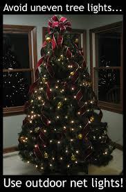 tree put up lights decoration