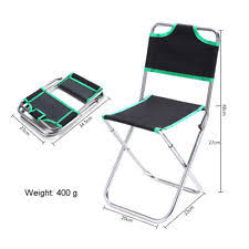 Ultra Light Folding Chair Fishing Chair Ebay