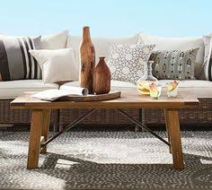 Pottery Barn Griffin Coffee Table Griffin Wrought Iron U0026 Reclaimed Wood Coffee Table Reclaimed